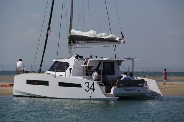 Nautique services La Rochelle - Vente de bateau à La Rochelle - Aventura Catamarans 34