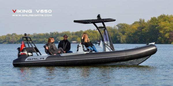 Nautique services La Rochelle - Vente de bateau à La Rochelle - Gala Viking V650 Confort