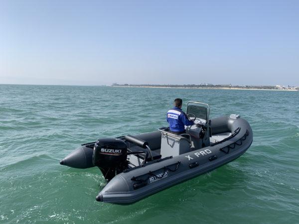 Nautique services La Rochelle - Vente de bateau à La Rochelle - Semi rigide 3D Tender xpro 535