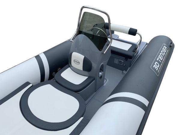Nautique services La Rochelle - Vente de bateau à La Rochelle - Semi rigide 3D Tender Lux 550