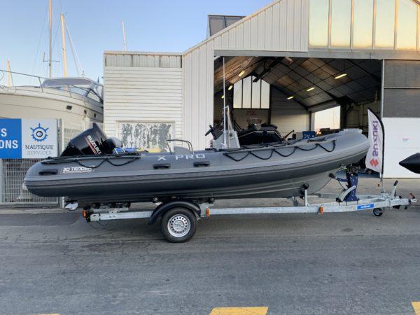 Nautique services La Rochelle - Vente de bateau à La Rochelle - Semi rigide 3D Tender xpro 589