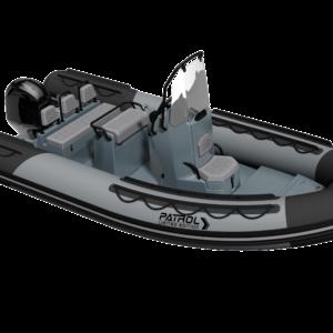 Nautique services La Rochelle - Vente de bateau à La Rochelle - Semi rigide 3D Tender Patrol 550