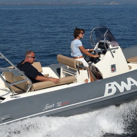Nautique services La Rochelle - Vente de bateau à La Rochelle - BWA Sport 22 GTO