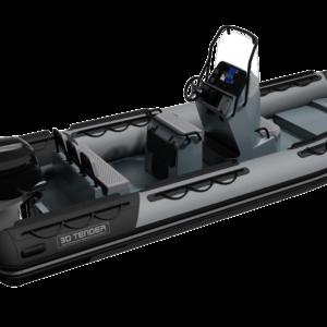 Nautique services La Rochelle - Vente de bateau à La Rochelle - Semi rigide 3D Tender Patrol 600