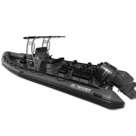 Nautique services La Rochelle - Vente de bateau à La Rochelle - 3D Tender Patrol 860