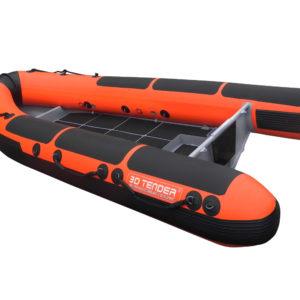 Nautique services La Rochelle - Vente de bateau à La Rochelle - 3D Tender Rescue Boat 370