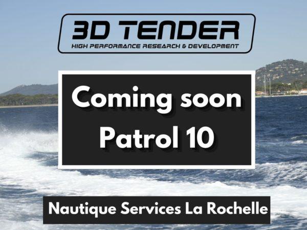 Nautique services La Rochelle - Vente de bateau à La Rochelle - 3D Tender Patrol 10