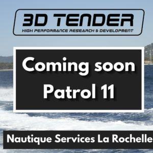 Nautique services La Rochelle - Vente de bateau à La Rochelle - 3D Tender Patrol 11