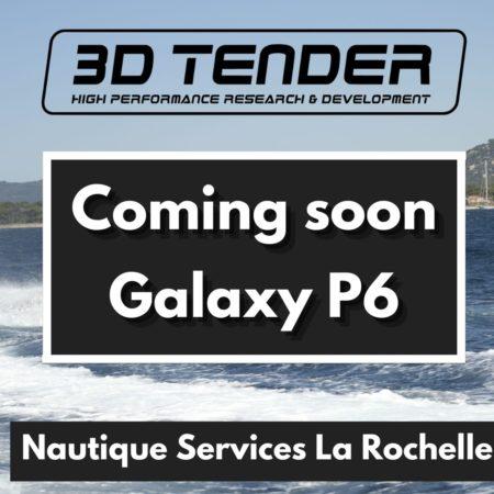 Nautique services La Rochelle - Vente de bateau à La Rochelle - 3D Tender Galaxy P6