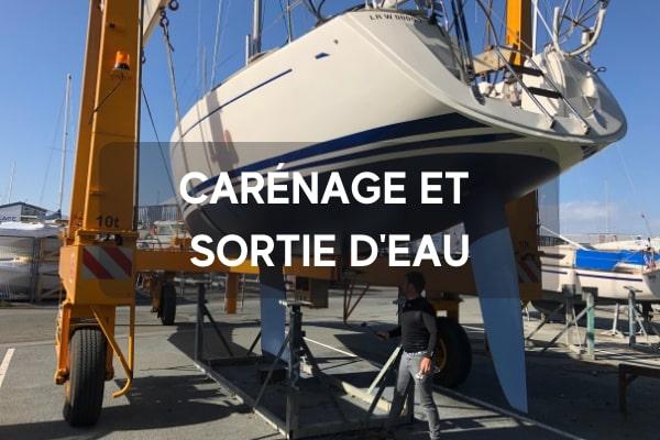 Nautique services La Rochelle - Vente de bateau à La Rochelle - Carénage et sortie d'eau