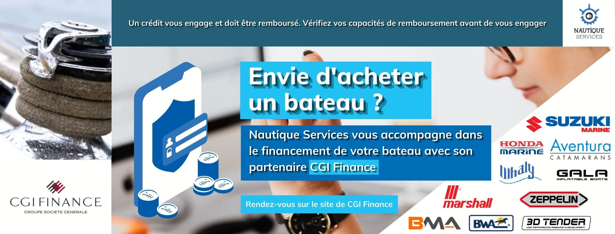 Nautique services La Rochelle - Vente de bateau à La Rochelle - CGI Finance